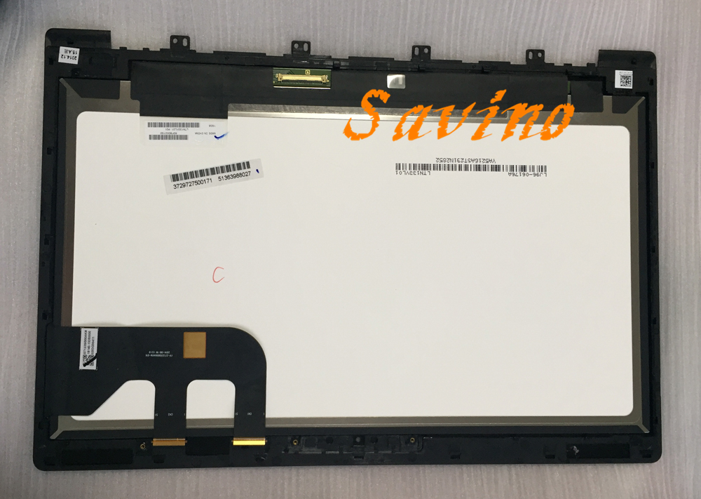 (1920*1080) 13.3 Full HD For Asus Zenbook UX303 UX303LA DB51T LCD LED Display Touch Assembly Screen With Frame Bezel 30pins original 100%test for asus ux31a lcd screen assembly 40 pin 13 3 1920 1080 tested good with touch with free tool
