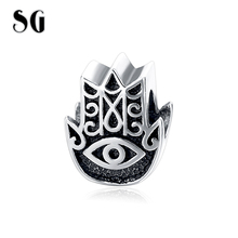 Fits Pandora Bracelets Oceanic Starfish Silver Beads 2016 Summer Style 100% 925 Sterling Silver Charms DIY Jewelry