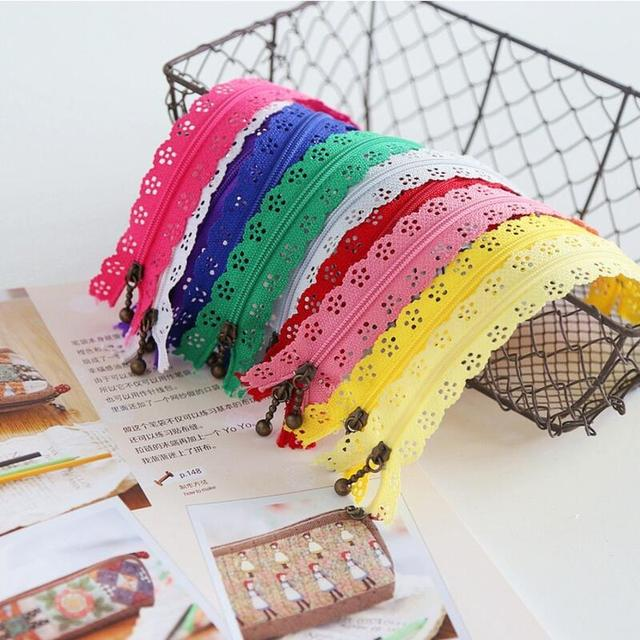 10 pcs 3 #20 cm multicolor rendas nylon bobina zippers tailor ferramentas de costura acessórios de vestuário diy costura au293 cremalleras