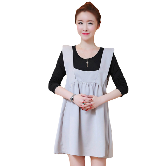 8aa8e3308d070 2019 Pengpious mother fashion turtleneck sweater+sundress Two-piece knitted  suspenders dress pregnant woman clothes set suits