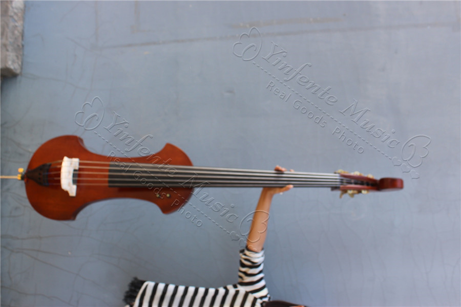 Top Model 5 String Electric Pucker Upright Bass  6 # electric bass  цены
