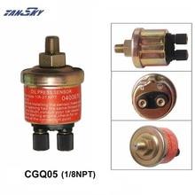 """2-терминал моторное масло Давление датчик Сенсор датчик 1/"""" дисплей 150 фунтов на квадратный дюйм для послепродажного датчик TK-CGQ05"""