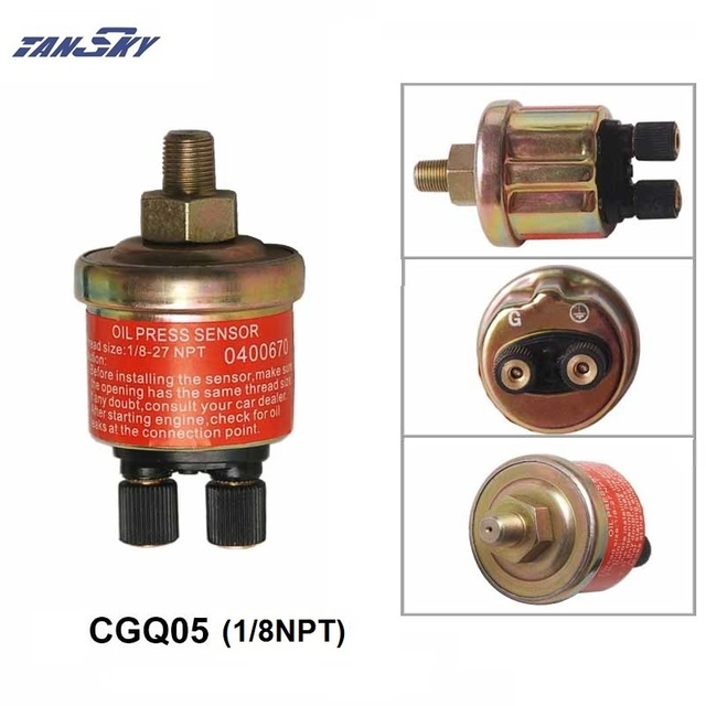 US $2 73 8% OFF|Oil pressure Sensor Replacement Just for PIVOT's gauge For  FORD MUSTANG 3 8L TK CGQ05-in Oil Pressure Gauges from Automobiles &