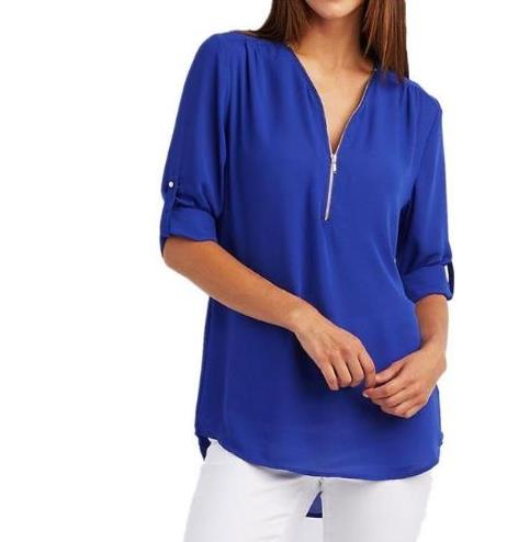 Women Plus Big Size 4XL 5XL Loose Casual Chiffon Blouse Female 2018 Summer Black Solid Sleeve Elegant Tops Shirts Blusas