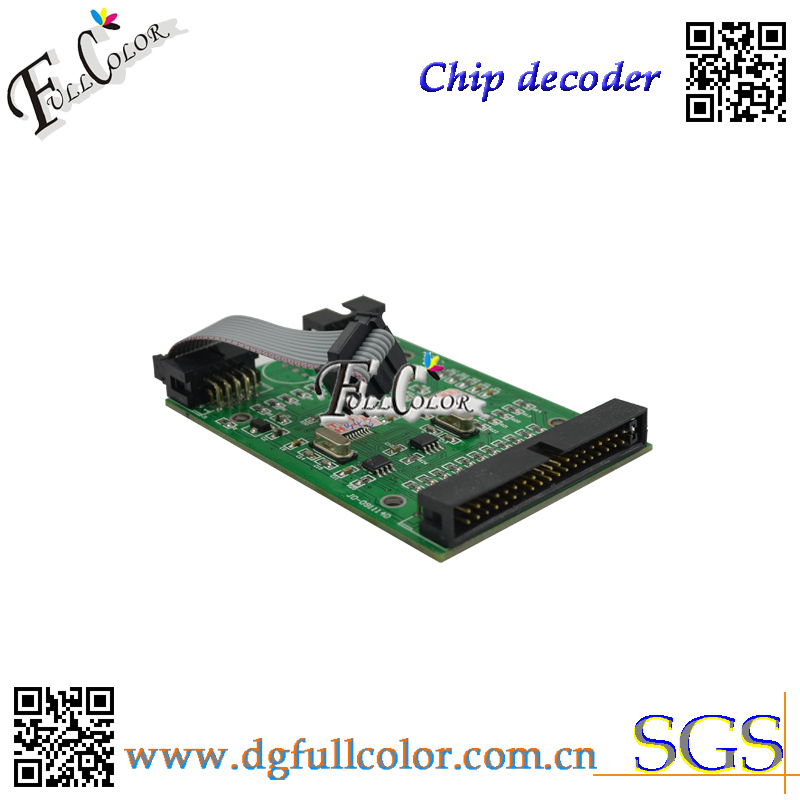 Free shipping chip decoder for hp Z6100 best printing Program with refillable ink cartridge 4 color permanent chip for hp 685 for hp 3525 4615 4620 5525 4625 printer cartridge chip