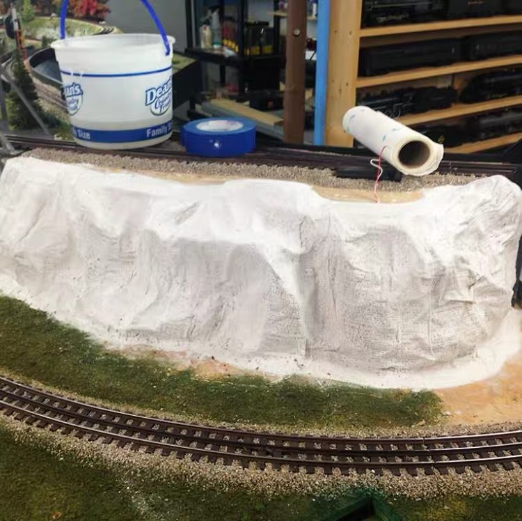 100mm*4500mm Plaster Cloth,scale Model Building Materials Landscape Model Train Railway Layout Scenery DIY Miniature Dioramas
