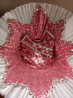 Swan Lake Ballet Costumes For Kids Suspender Sequins Tutu Skirt Performance Girls Ballet Clothes Children Dancewear