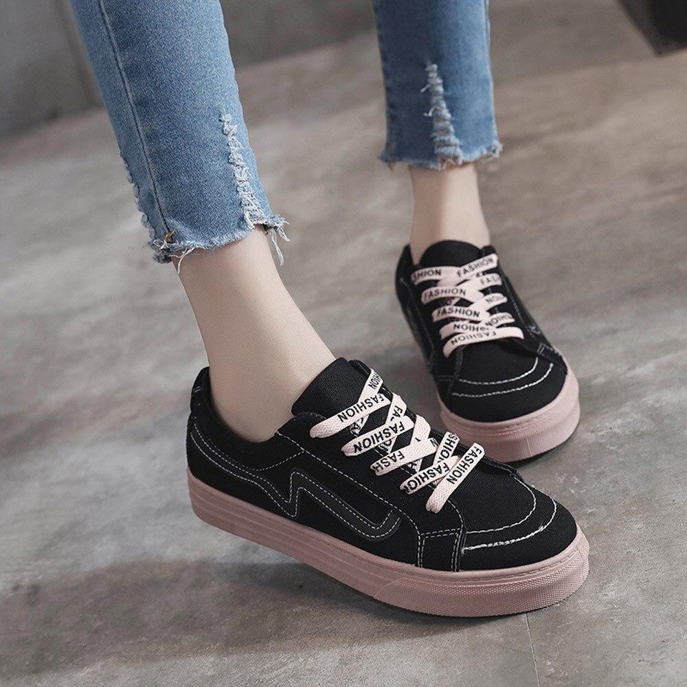 Beige 24 Vintage Femmes Zapatos Mocassins De Plates Mujer Toile Conseil black 2018 Sagace Femme Chaussures Étudiants Jl BxgqnwZw