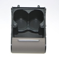 1Pcs New Gray Cup Holder Center Console Water Cups Drink Racks For VW PASSAT B6 B7 CC 3CD858329A 3CD 858 329 A 3C0 858 329