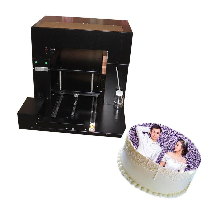 Imprimante alimentaire machine & Gâteau, Chocolat, Macaron, lolllypop d'impression À Plat 3D imprimante