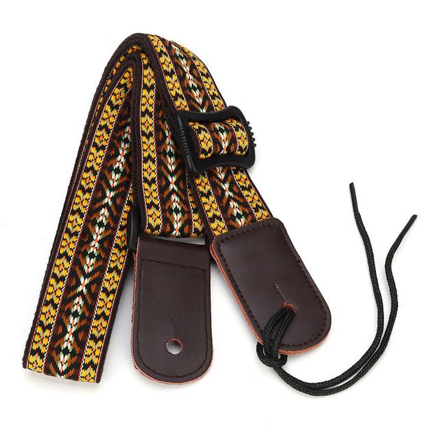 Ethnic Knitted Ukulele Straps