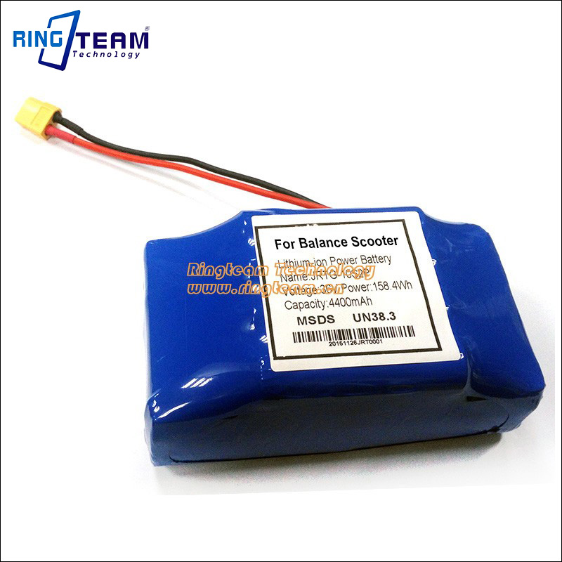 36V 5000MAH Rechargeable Lithium Ion Battery Pack with Premium Cell for Swing Electronic Self-Balance Scooter 30a 3s polymer lithium battery cell charger protection board pcb 18650 li ion lithium battery charging module 12 8 16v