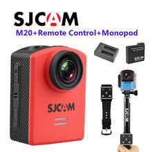 Free Shipping!! Original SJCAM M20 WiFi Gyro 2160P 16MP Min Sports DV with Remote Control+Monopod+Extra Battery+Battery Charger