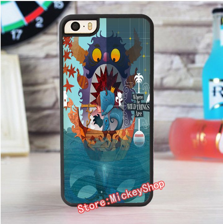 Where The Wild Things Are Cartoon Wallpaper Fashion Cover Case For