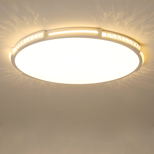 Image 4 - קריסטל תקרת מנורת קוטר 42/52/80 cm לסלון חדר שינה אקריליק מודרני LED תקרת אורות lamparas דה techo plafondlam