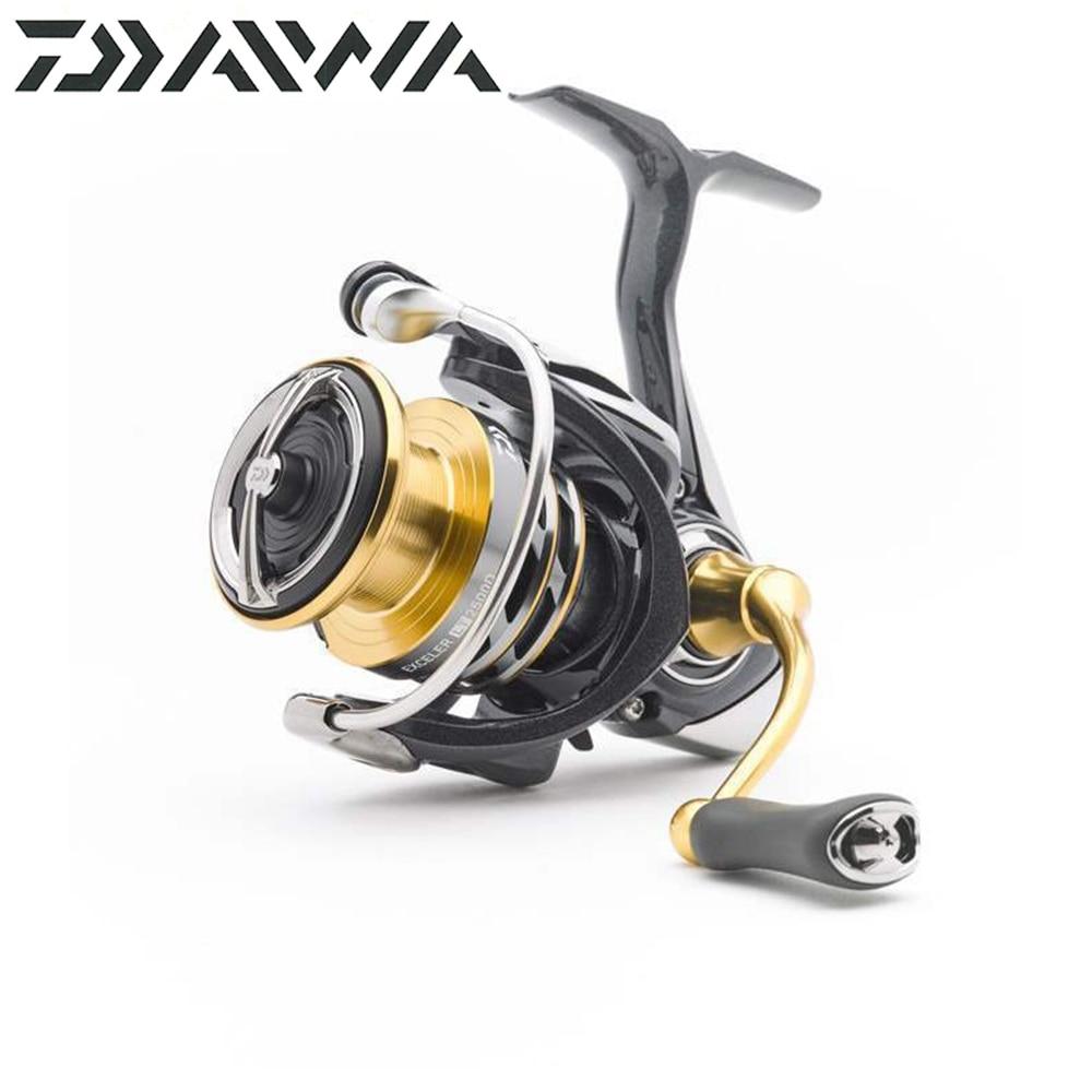 NOVO carretel de pesca Daiwa EXCELER LT (Light & Resistente) 1000D/6000D-H Leve e forte LC-ABS Metail Spool 4 KG-12 KG Ultraleve 185g-320g