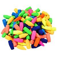 Горячий-200 штук карандашный ластик колпачки карандаши Топ ластик для детей студентов обучения