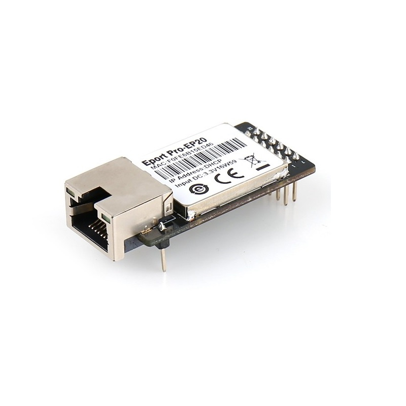 TTL Serial To Ethernet TCP/IP/Telnet/Modbus Module Serial server RJ45 go to TTL