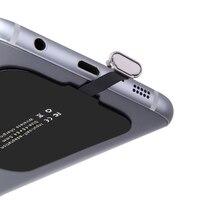CHUNFA 제나라 수신기 삼성 J7 J3 J5 A3 S5 무선 충전기 수신기 코일 Ti 칩셋 패드 전화 무선 충전 마이크로 USB