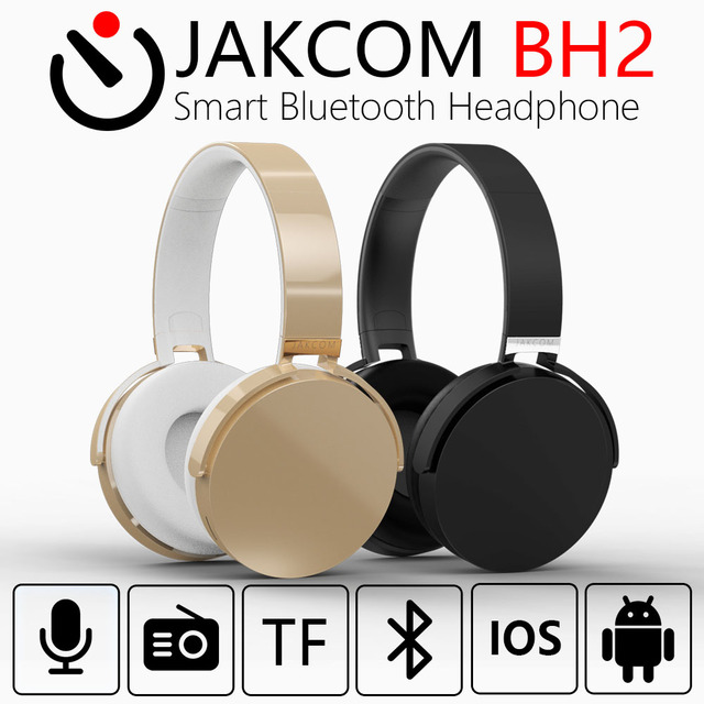 JAKCOM BH2 Smart Bluetooth Headset New Product of Headphones With Microphone For Iphone Android Radio TF Card Headphone
