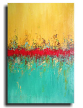 Hand Painted Modern Large Abstract Paintings Home Decorative Handmade Calligraphy Wall Art Color Knife Oil Paintings on Canvas