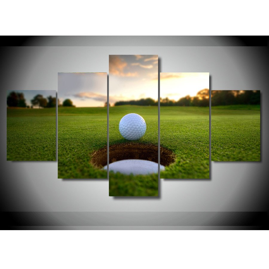 Awesome Golf Wall Art Gift   Wall Painting Ideas   Arigatonen.info
