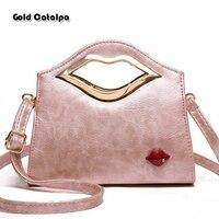 RED LIPS SEXY Fashion Handbag Women Shoulder Bags Popular Tote Brand Designed Crossbody Messenger Bags Top