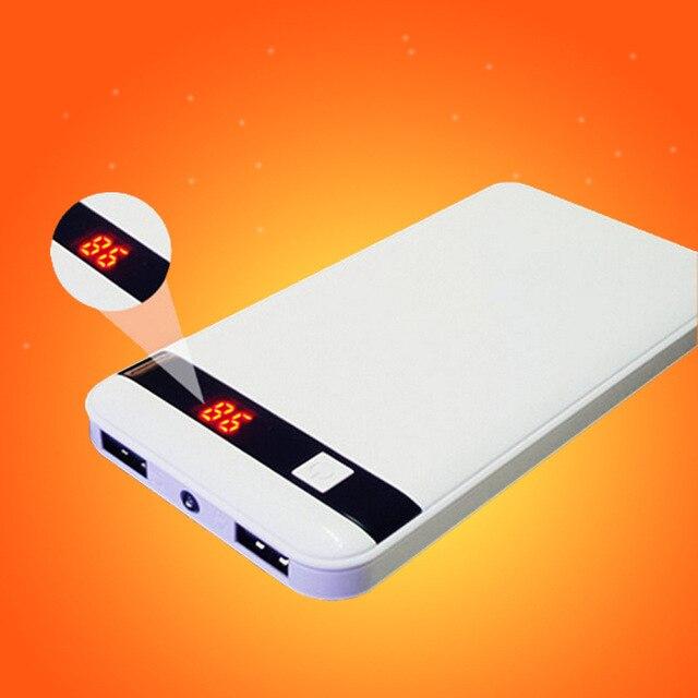 Новый Power Bank 10000 мАч Внешняя Батарея Портативный Мобильный Резервного Копирования Банк Зарядное Устройство для Всех Телефон Резервного Копирования полномочия только лишь отправить россия