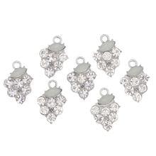 Стразы металлическая аппликация свадебная отделка вышивка камнями
