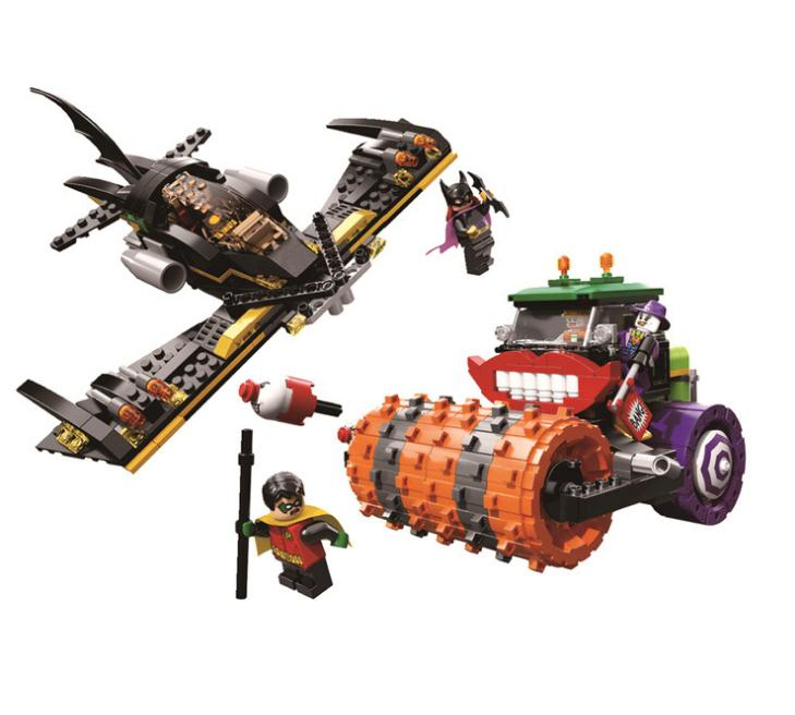 Classic DC Super Heroes Batman Joker Steam Roller Robin Building Blocks Model Dream Educational Figures Bricks Toys GiftClassic DC Super Heroes Batman Joker Steam Roller Robin Building Blocks Model Dream Educational Figures Bricks Toys Gift