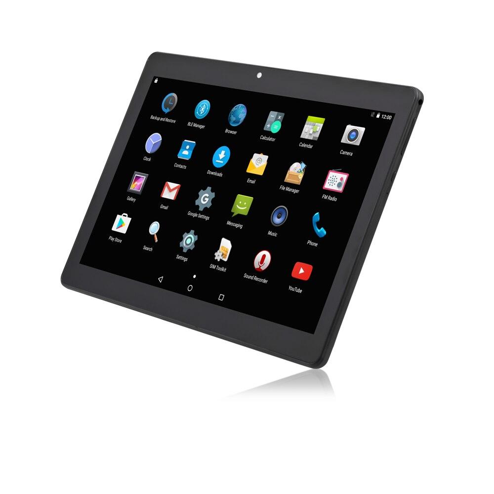 10,1 дюймов планшетный ПК Octa core Android 7,0 2 ГБ + 32 ГБ 1280*800 две камеры Wi-Fi Bluetooth Черный цвет функция планшетов GPS OTG DHL