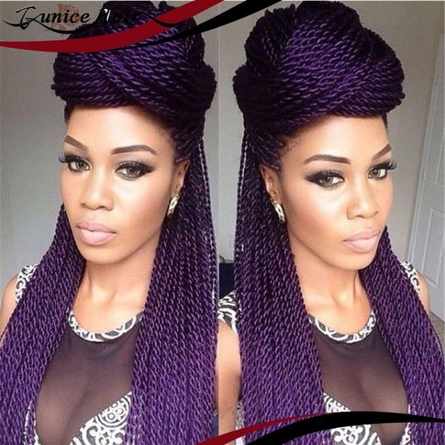 Single Twist Large Freetress Braid Bulk Crochet Senegal Braiding Hair Senegalese Extensions Synthetic