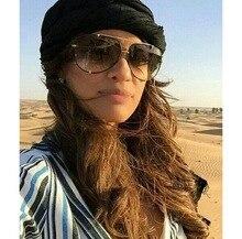 Fashion Oversized Aviator Sunglasses Women