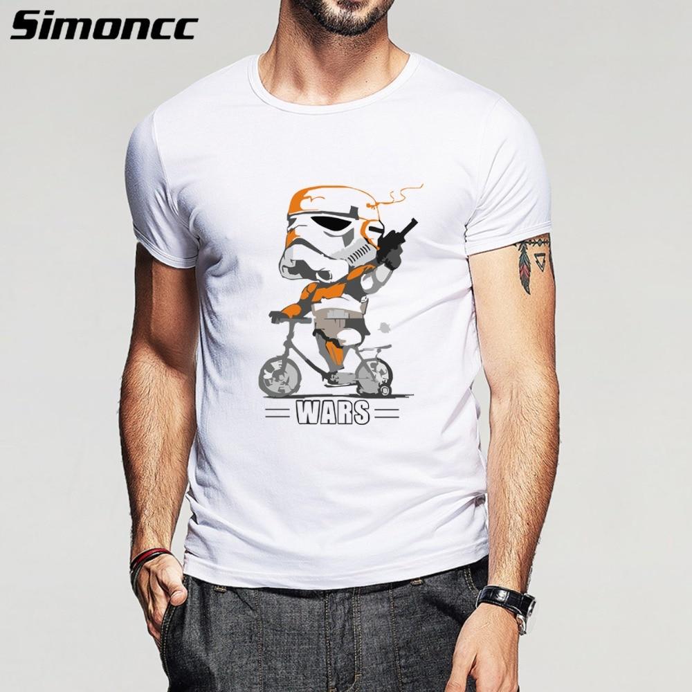 Shirt design for man 2016 - 2016 New Fashion Summer Design Funny T Shirt Homme Star Wars Print Darth Vader Mens T Shirt For Man Plus Size S 5xl