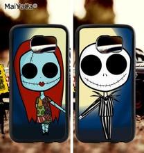 BFF Marc. skull girl boy love couple soft TPU edge phone cases for samsung s6 plus s7 s8 s9 S10 lite e note8 9