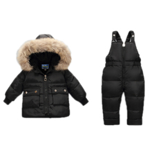 Winter Coat for Girls Warm Ski Suit Children Clothing Set Baby Boy Duck Down Jacket+Pants Overalls Kids Clothes Snowsuit