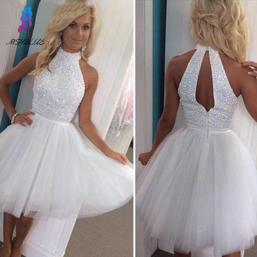 Online Get Cheap White Sparkly Cocktail Dress -Aliexpress.com ...