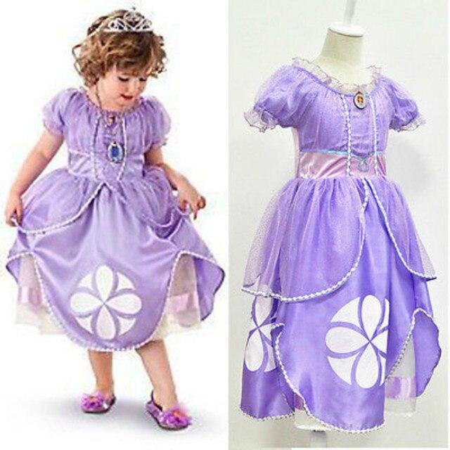 Lila cosplay kleid