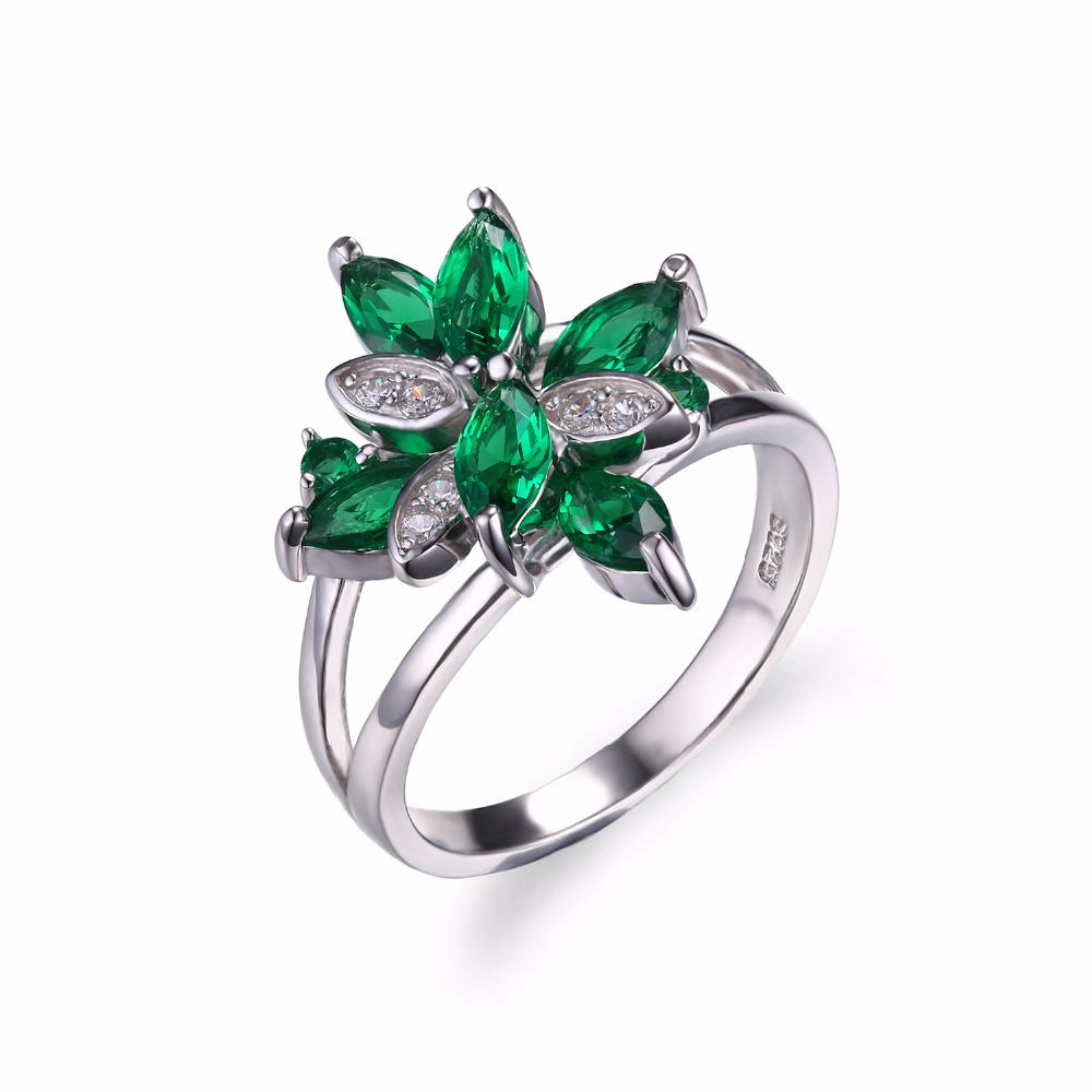 Fine Jewelry Womens Green Peridot Sterling Silver Cocktail Ring IpNFsIUEe8