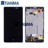 2018 NEW 100 Tested 4 3 800x480 For Nokia Lumia 820 LCD Display Touch Screen Digitizer