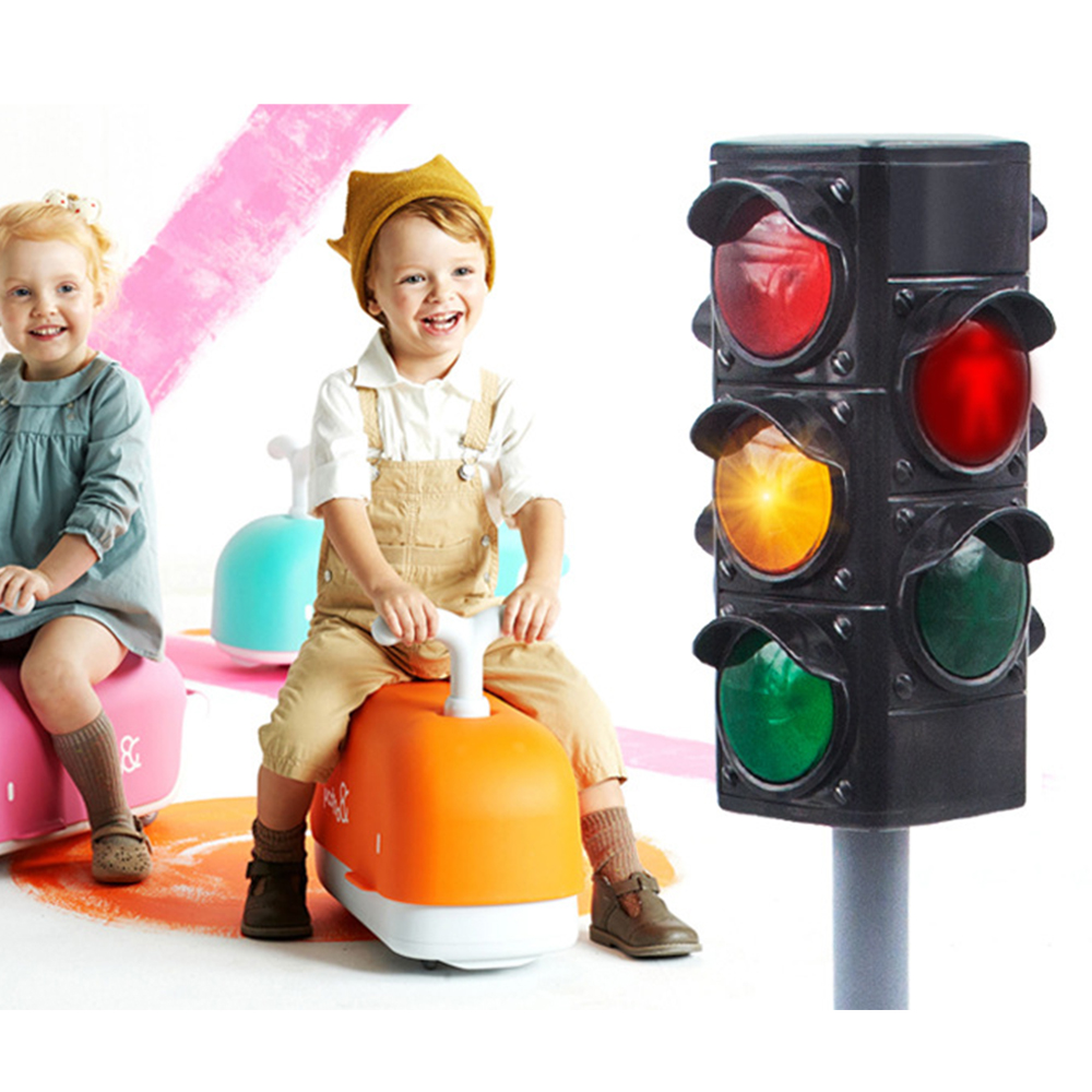 Traffic Equipment Light Tool Children Safety Crossing Road Toys Traffic Signal Toy Early Childhood Educational Toys все цены