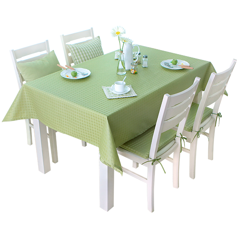 Modern Circle Printed Tablecloth Polyester Waterproof Coffee Tablecloth Restaurant Party Outdoor Home Decoration Table Cloth