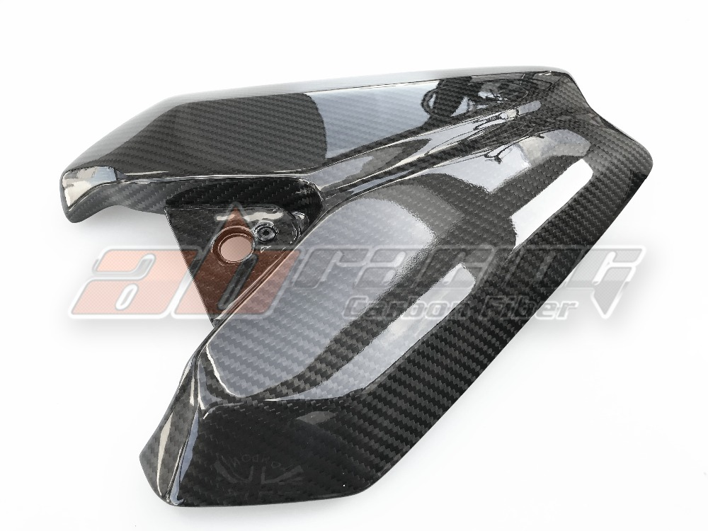 Top Seat  Cowl Cover For Kawasaki Z1000 2014-2018 Full Carbon Fiber 100%  Twill