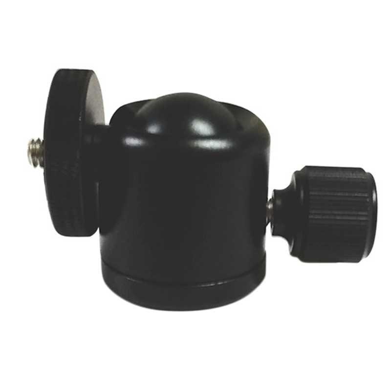 K25 360 pivotant Mini tête de trépied à rotule 1/4 pouces support de montage à vis pour appareil photo Compatible avec Sony Nikon Dslr caméra Tripo