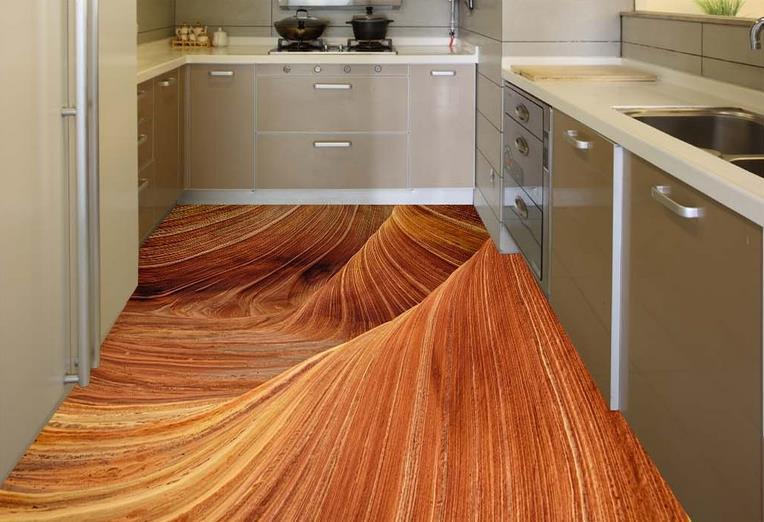... Custom Flooring Bedroom Photo Wallpaper Sandstone Desert 3d Wall Mural  Wallpaper 3d Flooring Adhesive Vinyl Rolls