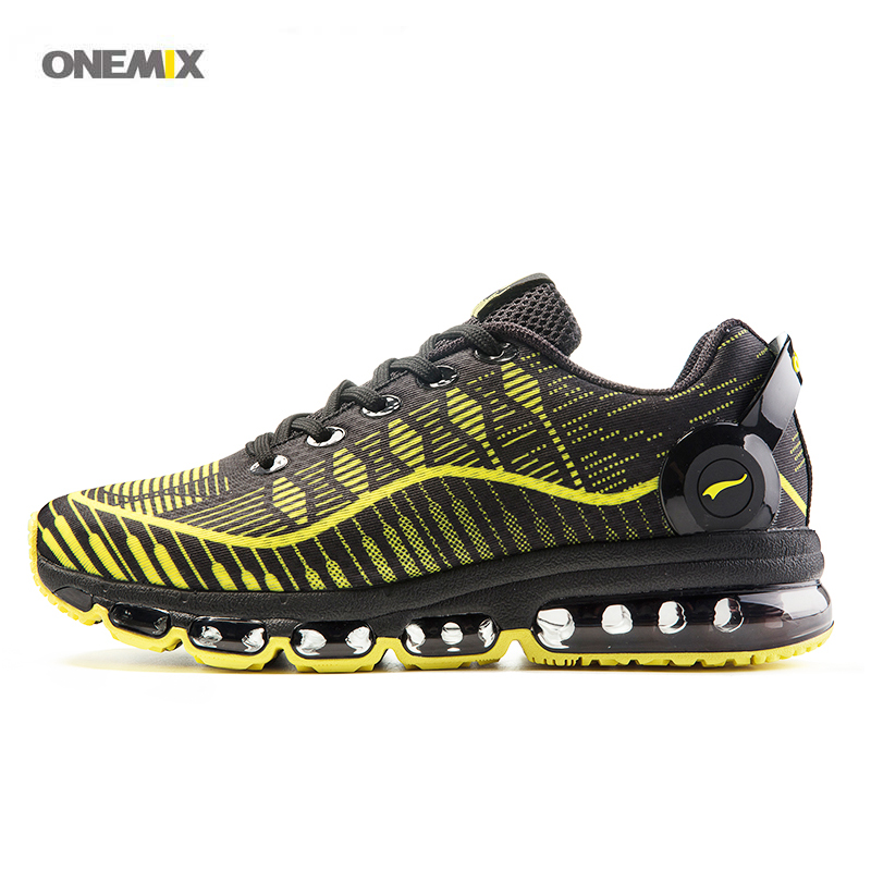 ONEMIX 2017 Men's sport running shoes mesh comfortable cross trainer sneakers air run lace-up breathe Men's athletic 1216B kettler run air