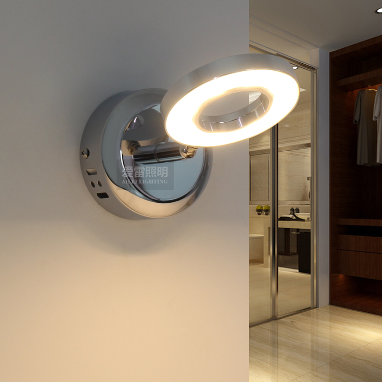 La lampada da comodino camera da letto illuminazione dello specchio HA CONDOTTO LA lampada w 0208 scale scale e corridoio parete del corridoio brevemente m