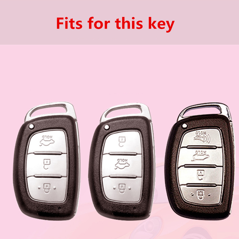 2019 TPU Quicksand Car Key Case For Hyundai MISTRA Elantra IX35 25 New SantaFe Sonnt 9 Fashion Collocation Crystal Keyring in Key Case for Car from Automobiles Motorcycles