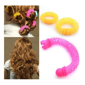 12 Pcs/Lot 2014 New Fashion Arrival Lucky Donuts Curly Hair Curls Roller Hair Styling Tools Hair Accessories For Women