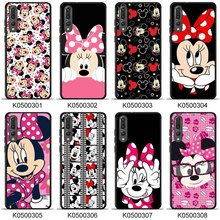 Minnie Phone Case P20 pro Soft TPU Print Phone Back Cover for huawei Mate 20